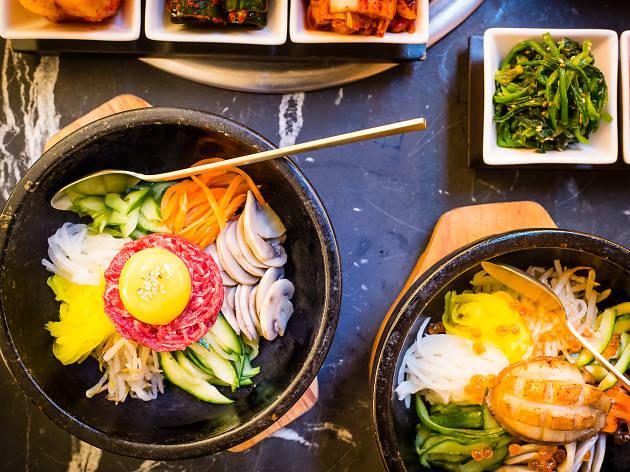 best korean restaurants in london, koba
