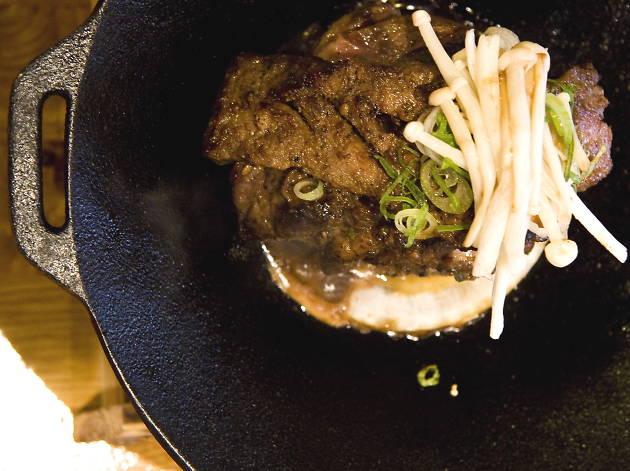 best korean restaurants in london, naru