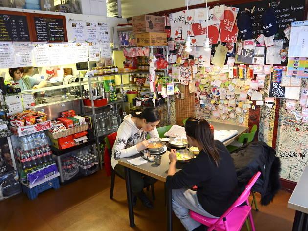 best korean restaurants in london, seoul bakery
