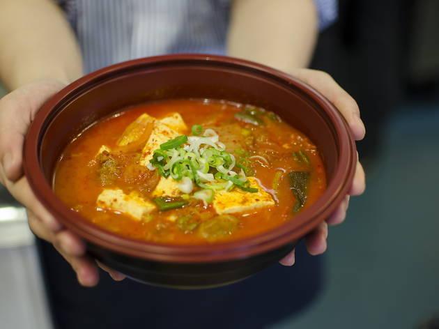 best korean restaurants in london, wellbeing kitchen