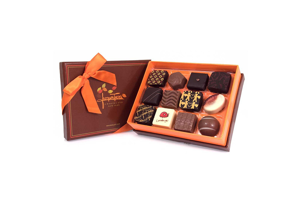 Jacques Torres 12-Piece Chocolate Sampler