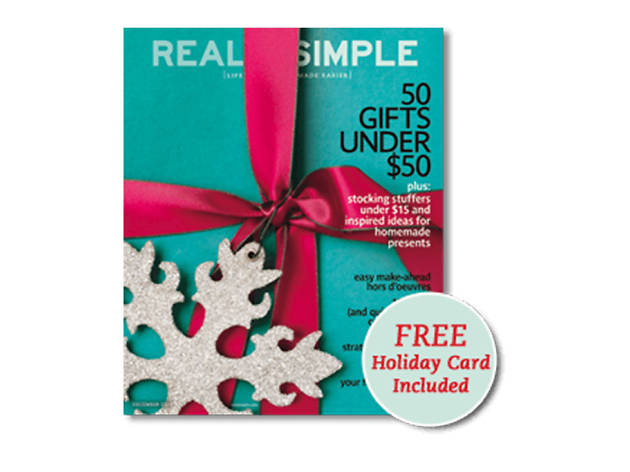 Real Simple Gift Subscription