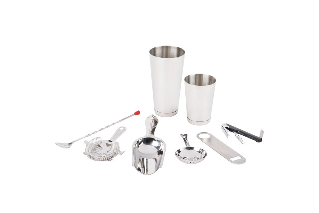 Webstaurantstore 8-Piece Starter Bar Cocktail Kit