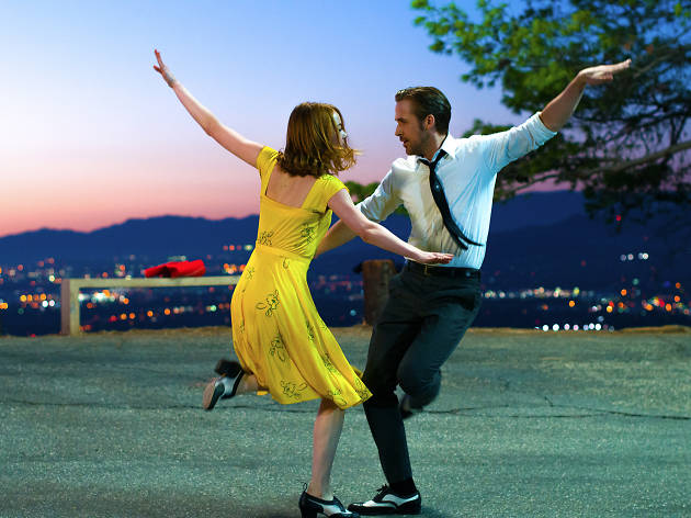 Stone and Gosling in La La Land