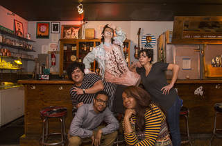 Clockwise from left: Sammy Arechar, Sarah Sherman, Alex Kumin, Rebecca O'Neal, Joel Boyd