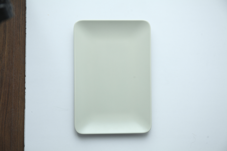 IKEA beige plate