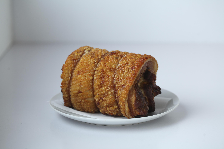 Crack Pork porchetta