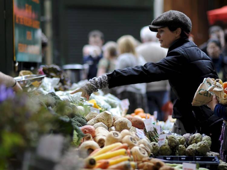 Os cinco melhores mercados de Londres