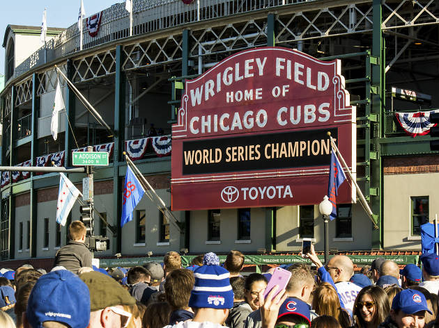 Cubs will start World Series Trophy tour on Friday