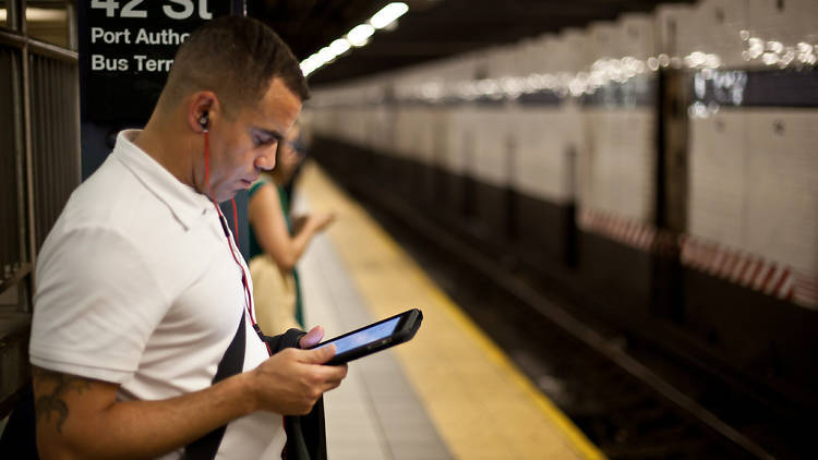 Every subway station in the city will have free Wi-Fi by the end of the year