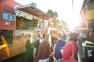 South Melbourne Night Market food trucks