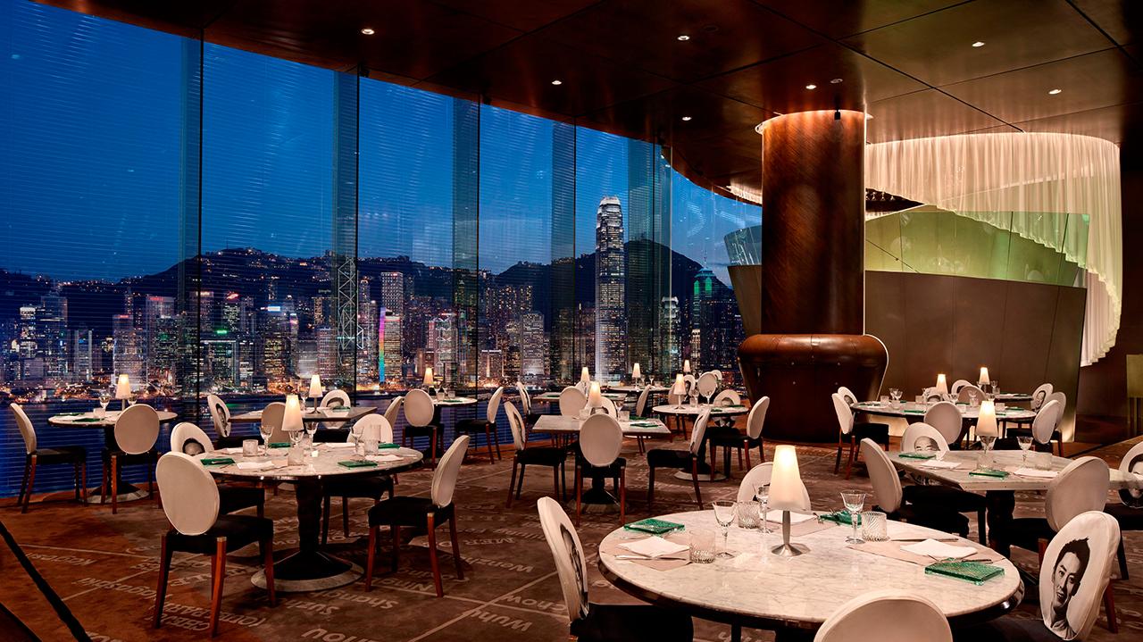 Sky-high dining – Felix Hong Kong