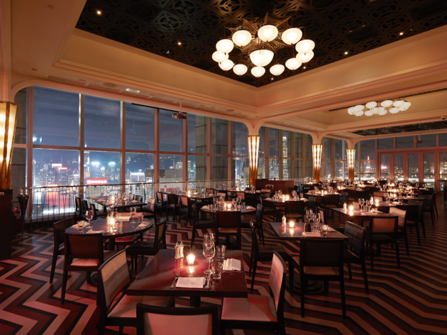 Sky-high dining in Hong Kong