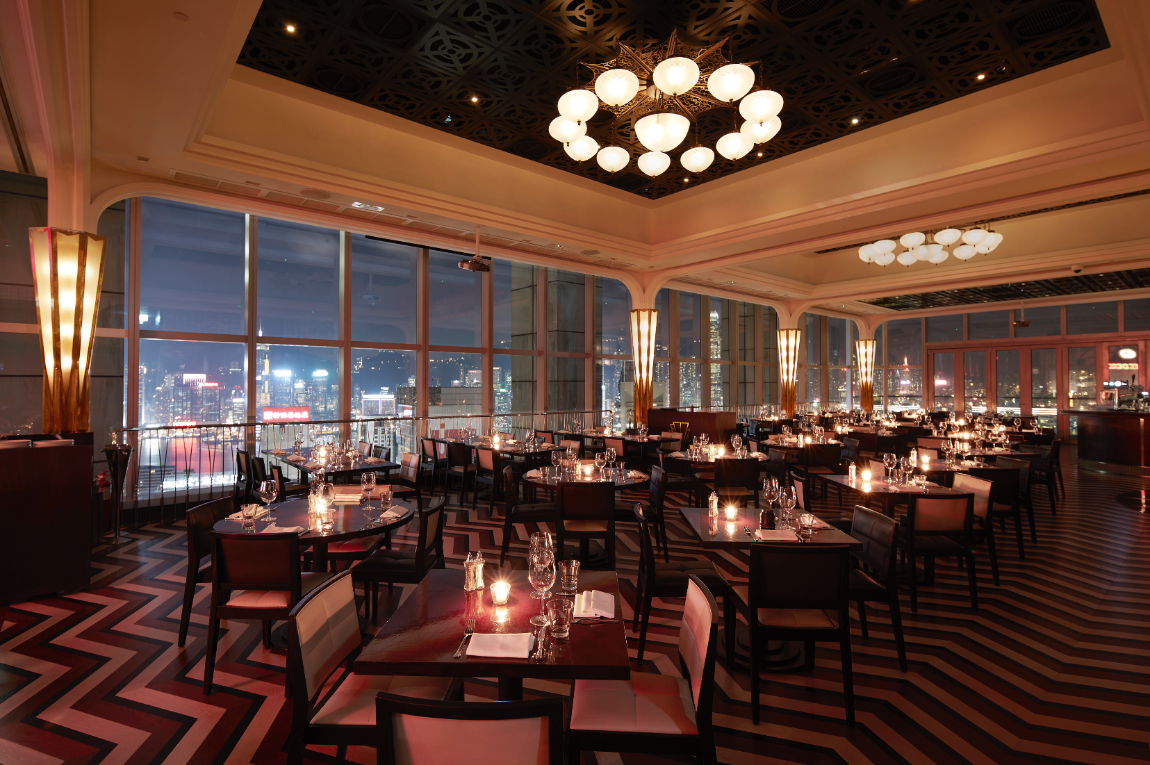 Sky high dining hong kong restaurants with seriously