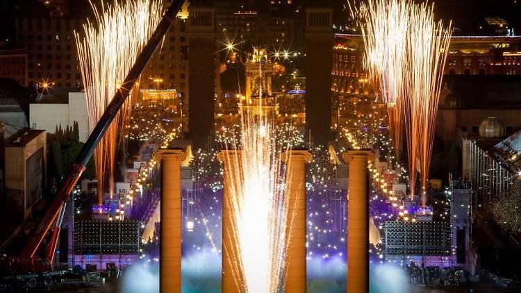 Año Nuevo en Barcelona
