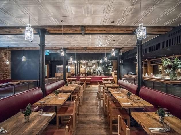 Mac And Wild City Restaurants In Aldgate London