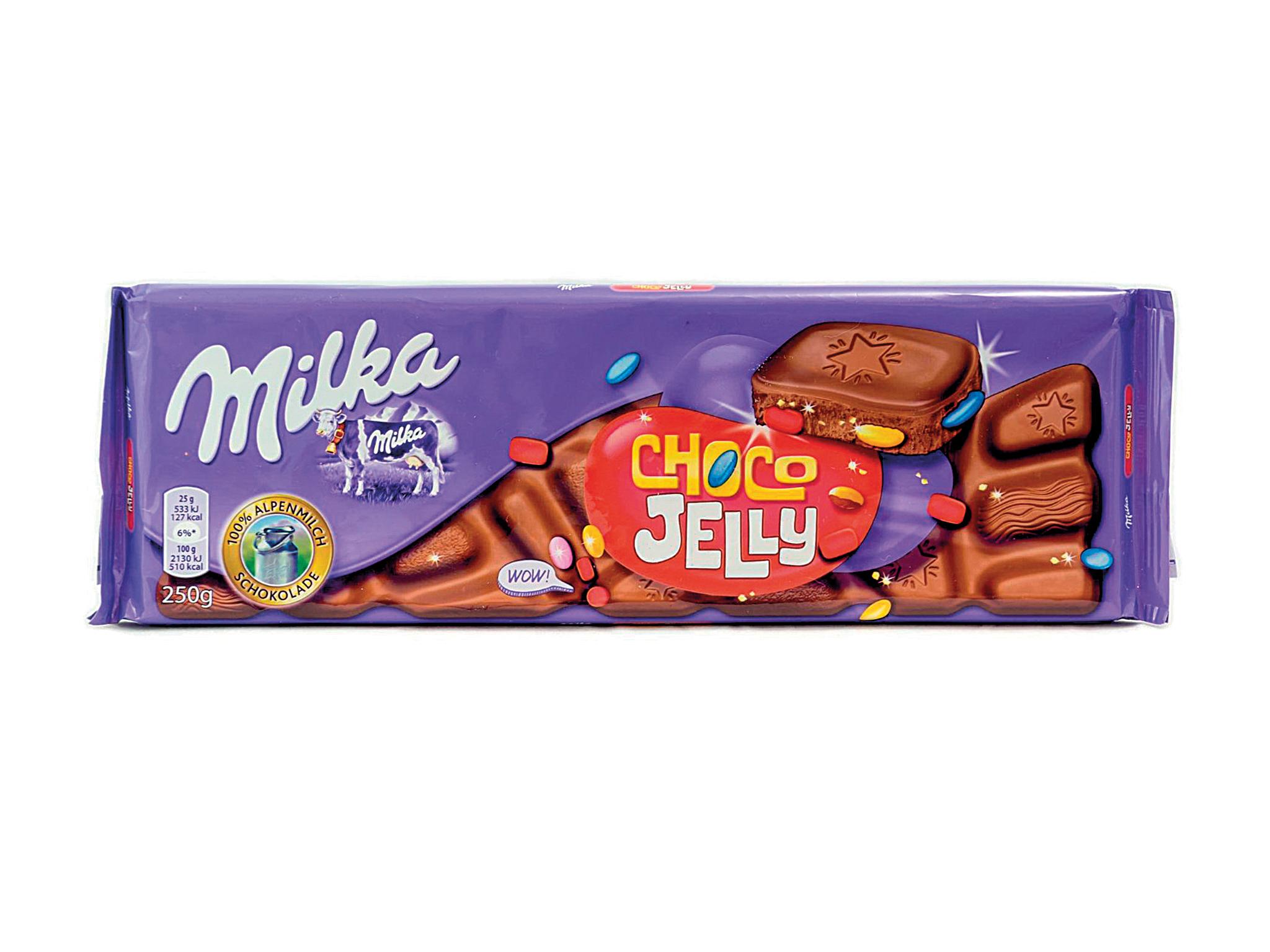 Chocolate Choco Jelly - Milka
