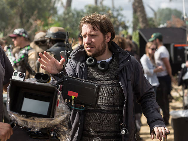 Gareth Edwards filming Rogue One