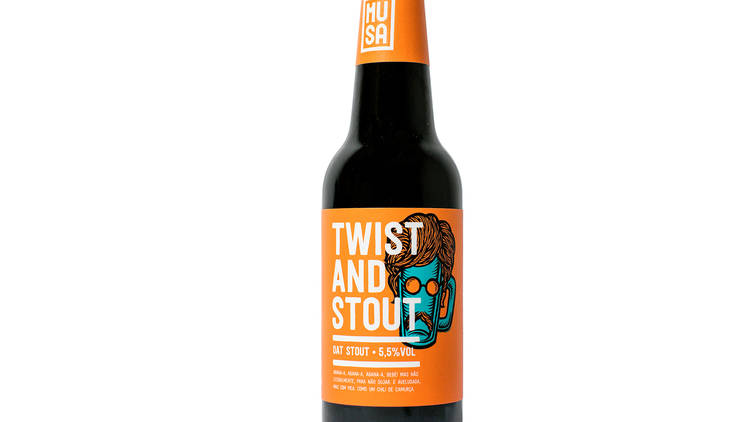 Cerveja Twist and Stout - Musa