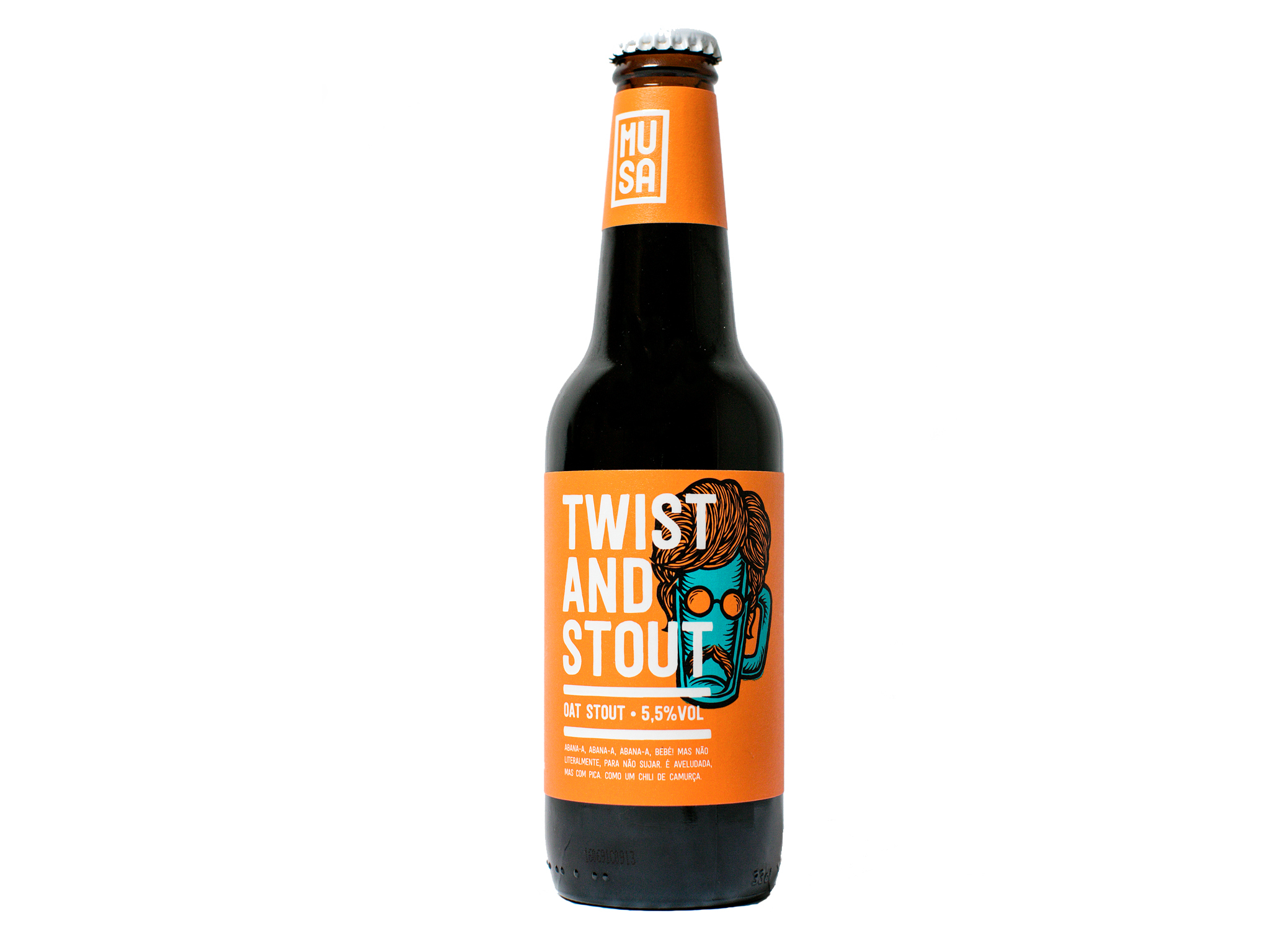 Cerveja Twist and Stout - Musa
