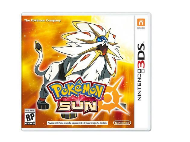 Pokemón Sun