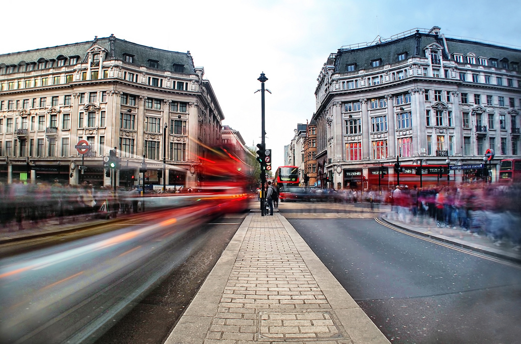 Pollution on Oxford Street has dropped by a third in 12 months