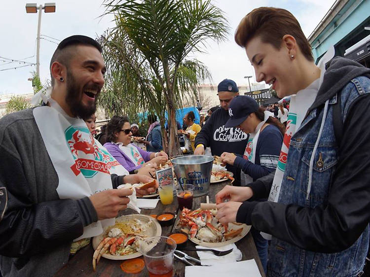 Chow down on cheap crab