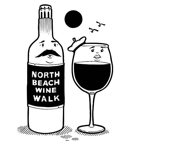 The First North Beach Holiday Wine Walk