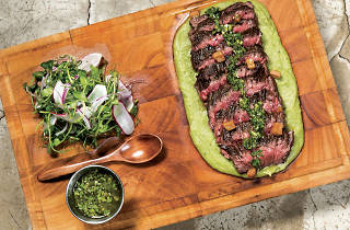 Lily & Bloom: Hickory smoked wild Hereford skirt steak