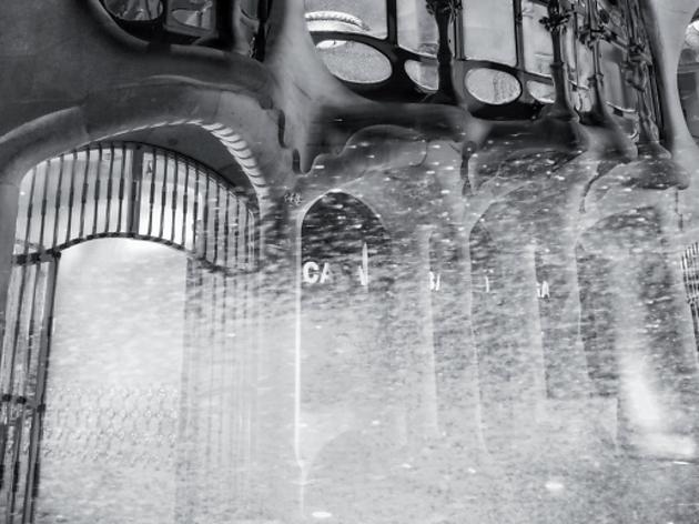Casa Batlló nevada