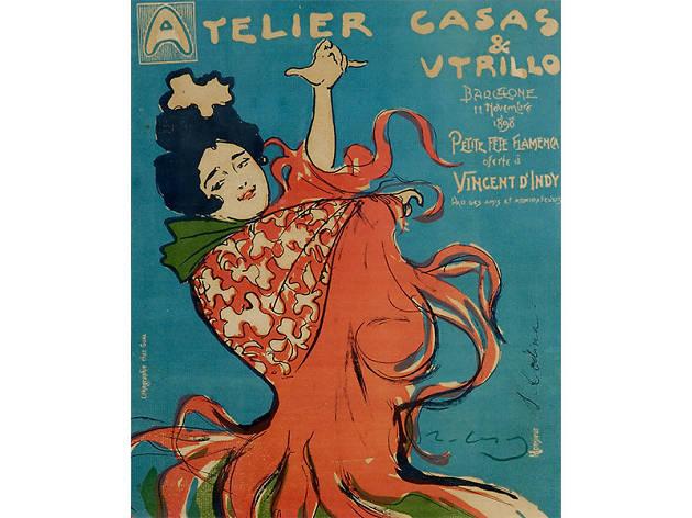 'Atelier Casas & Utrillo', de Ramon Casas