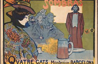 'Sombras. Quatre Gats'  (1897)