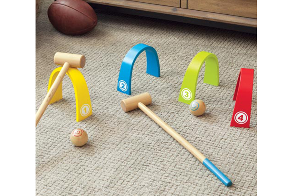 Heirloom Wooden Croquet Set