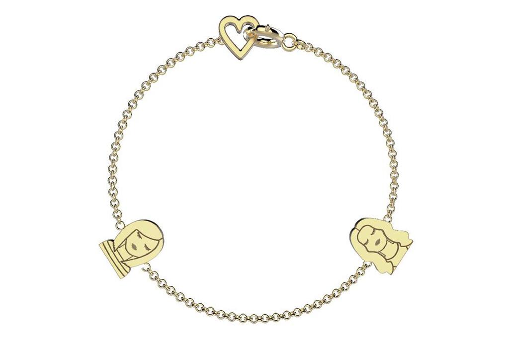 Gold Selfie Bracelet