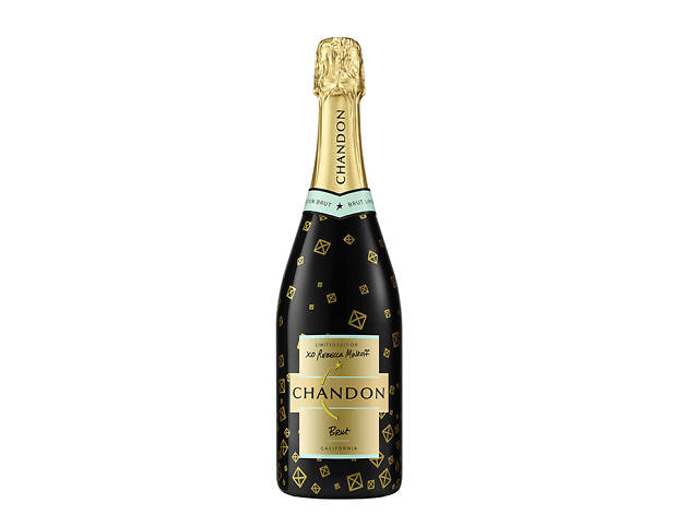 Chandon x Rebecca Minkoff Limited Edition Holiday Bottle