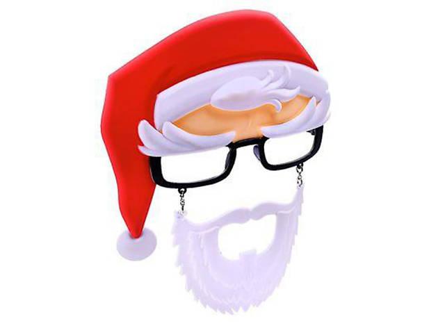 Santa Black Frames