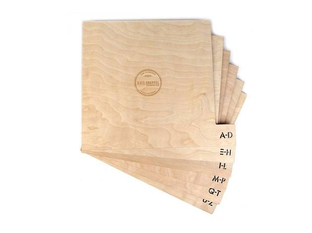 Record Dividers from Dijital Fix, $75