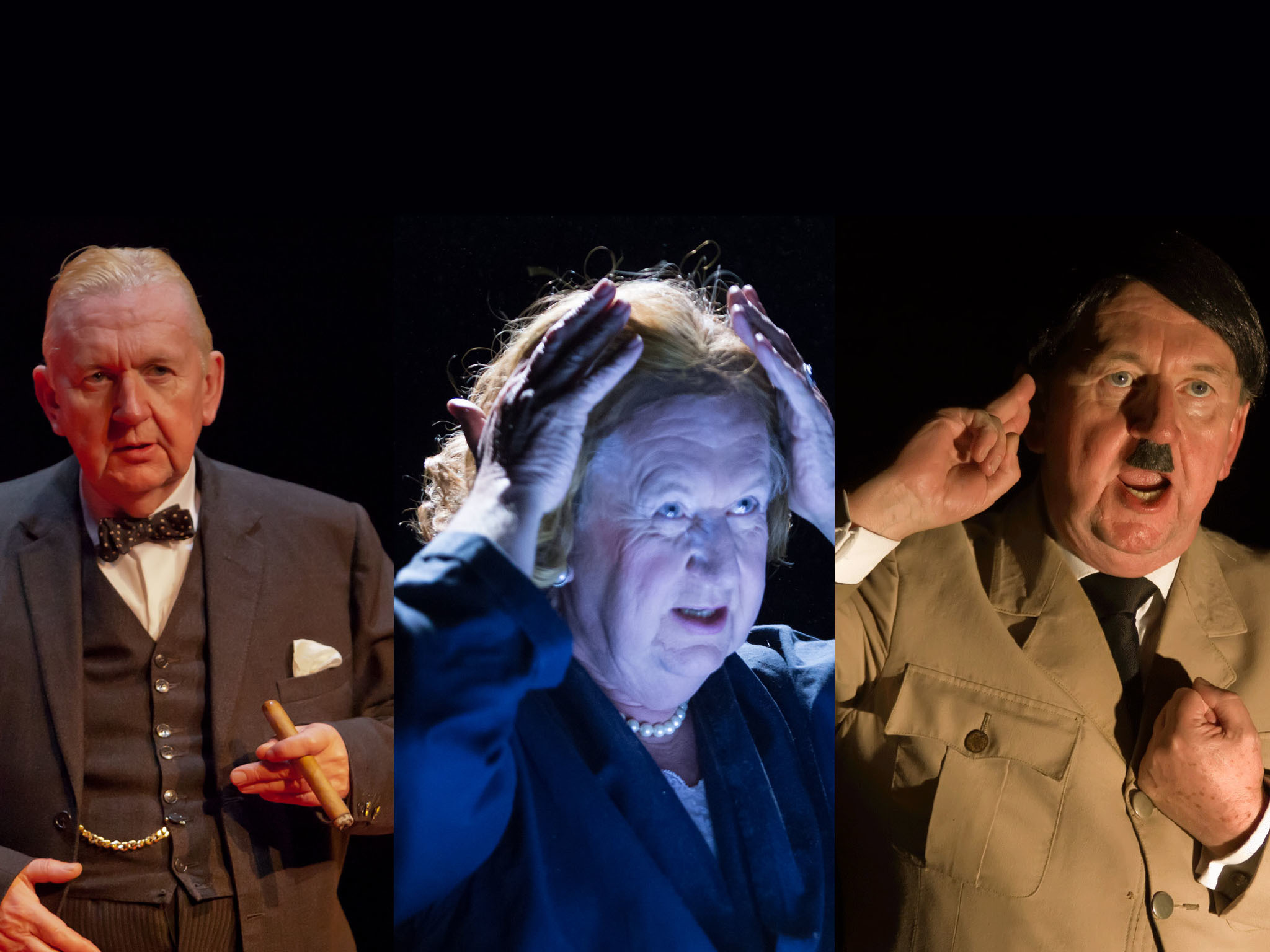 Pip Utton: Churchill, Playing Maggie and Adolf
