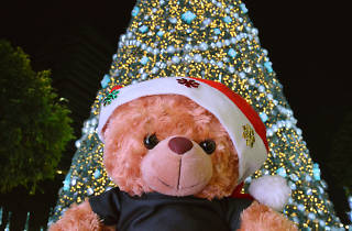 Christmas selfie spot - ION Orchard
