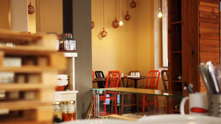 Restaurante, Peixaria da Esquina, Sala