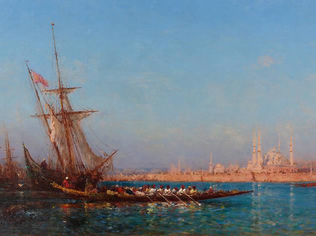 Félix Ziem: Işık Denizinde Bir Gezgin