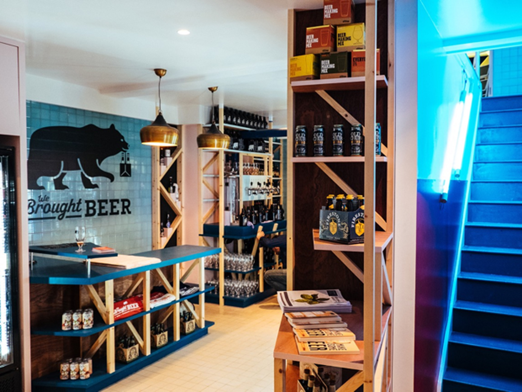 craft beer bottle shops london, we bought beer clapham