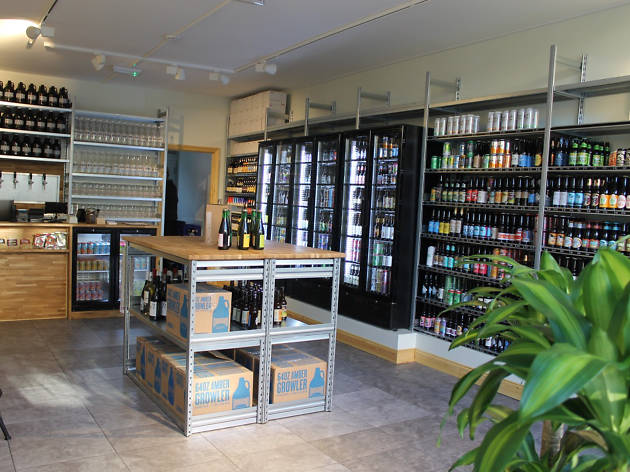 best craft beer bottle shops in london, micro brews