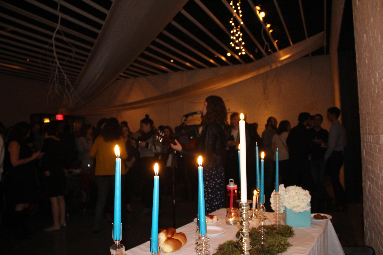 Brooklyn Jews pre-Hanukkah Party