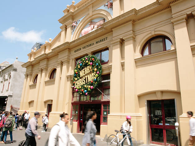 Extended Christmas hours at Queen Victoria Market
