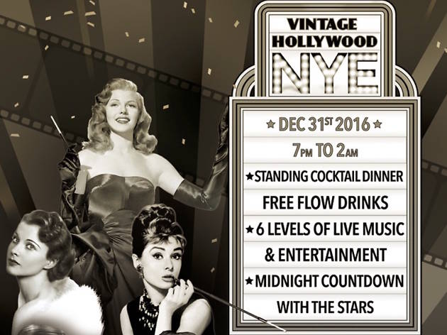 The Optimist's Vintage Hollywood NYE 2016