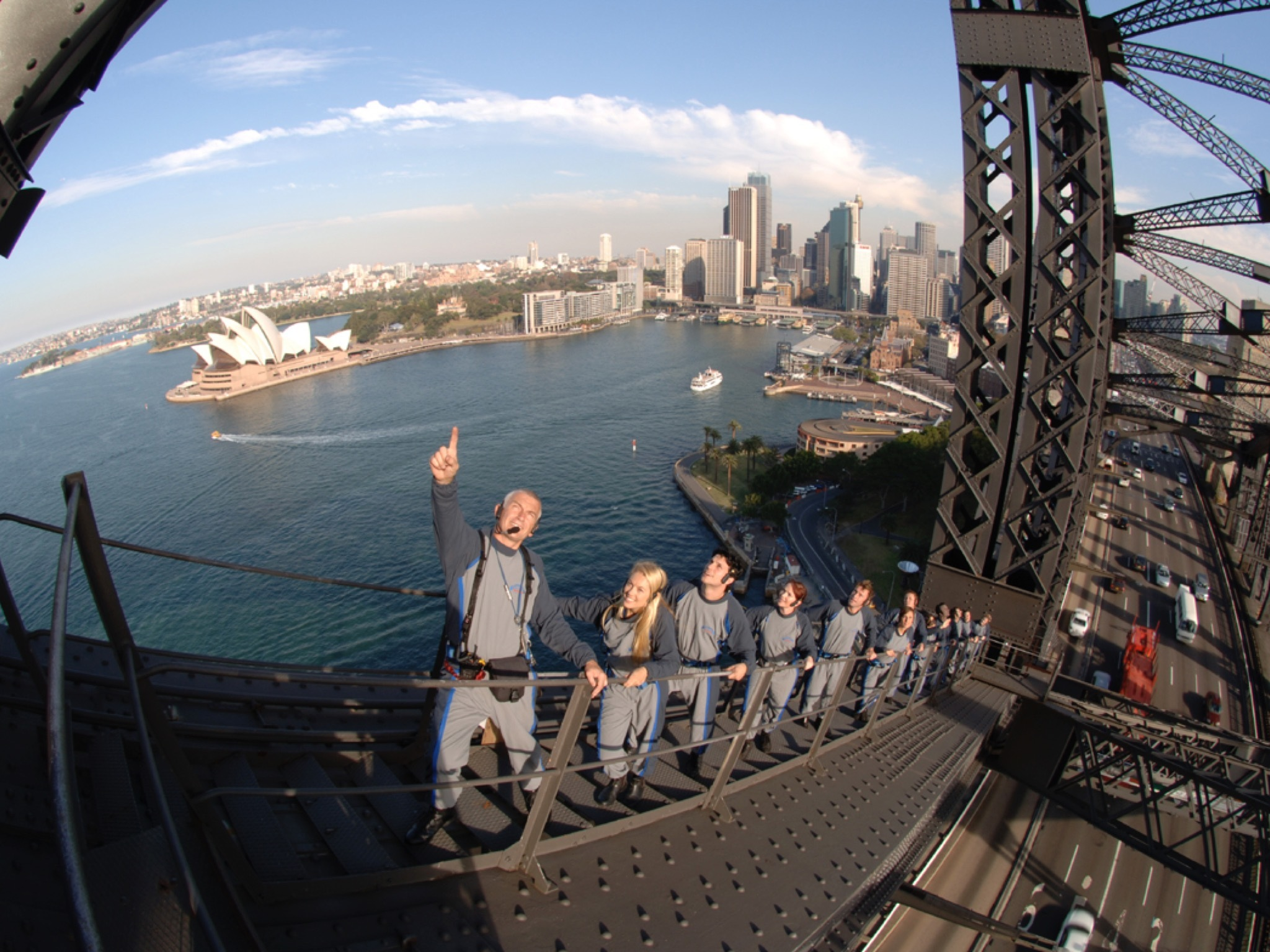 Climb the iconic Harbour Bridge