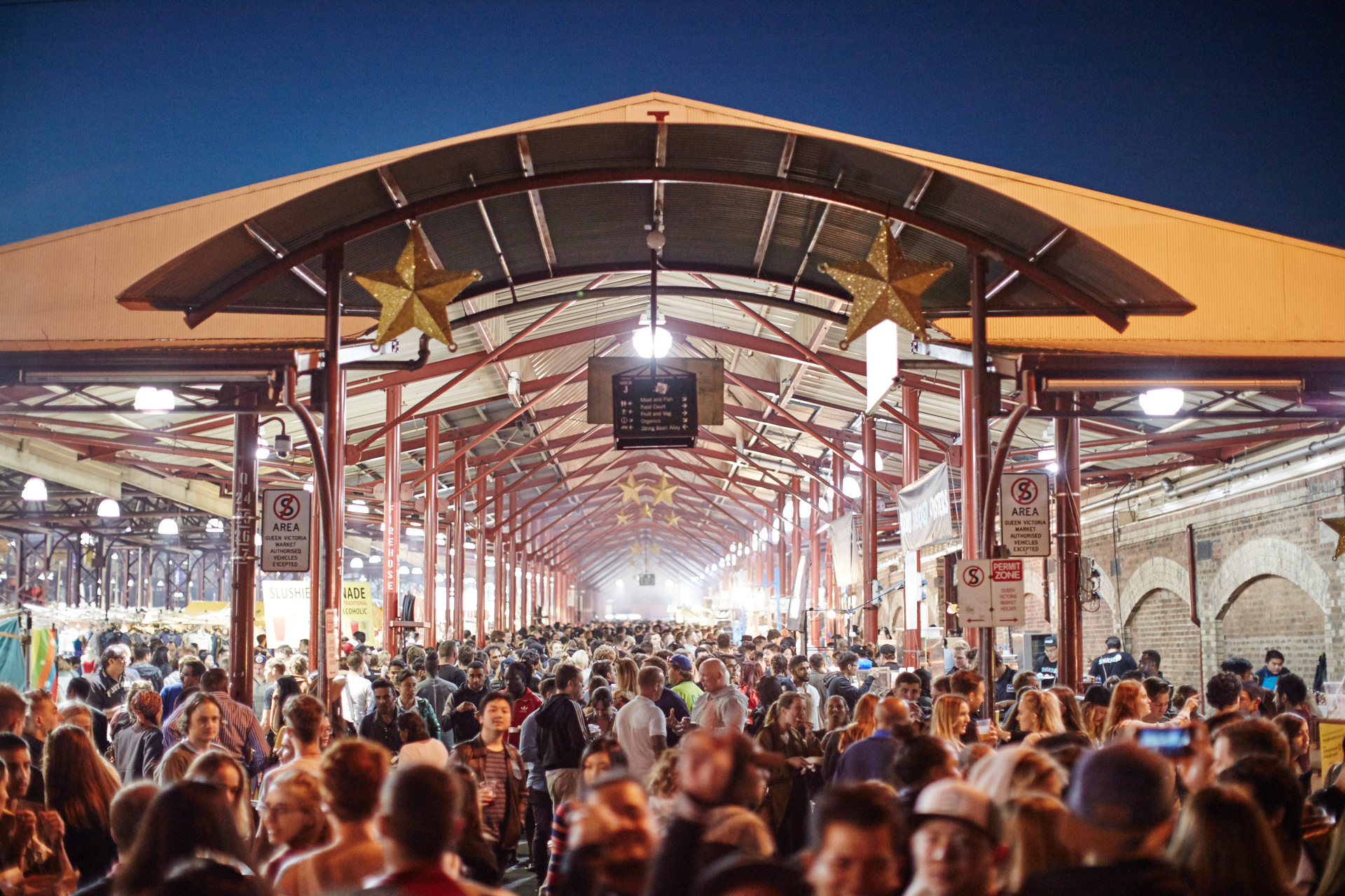 The Night Market at Queen Vic Market