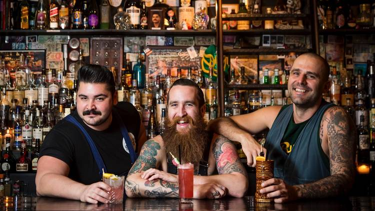 Bartenders at Ramblin Rascal