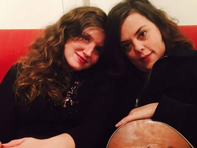 Jolie Holland And Samantha Parton